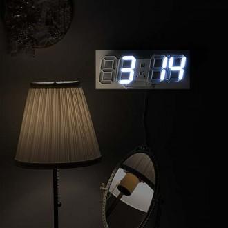 3D LED시계/무소음/전자/디지털/시계/벽걸이/탁상