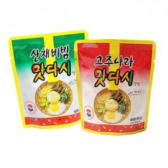 맛다시/고추나라/산채비빔/90g/만능소스/비빔장