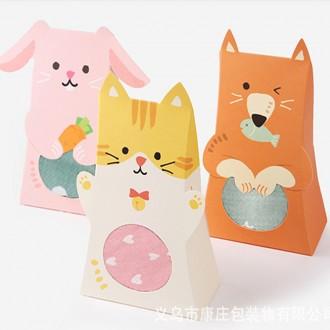 (앙상블) 동물 포장박스/선물 케이스/박스/어린이집