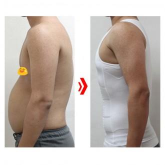 남성보정속옷 나시 바디쉐이퍼 똥배 뱃살 복부 압박