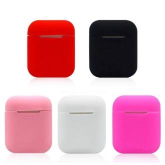 에어팟 실리콘 케이스/에어팟/실리콘케이스/애플