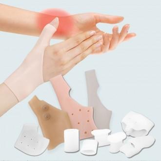 [도매큐] 발가락 실리콘패드 풋패드 뒤꿈치패드