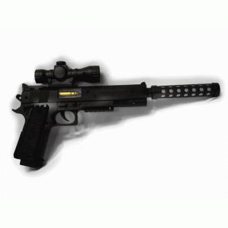 소음기 불빛&사운드전동권총