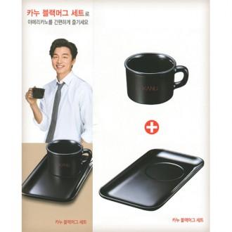 (증정용) 카누 블랙 머그 세트 / 커피컵/판촉용머그컵