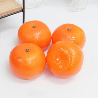 모형과일 감귤 모조 과일 귤 인테리어 소품 용품 파티