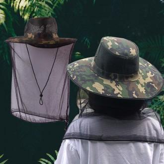 정글모 방충모 / 등산모자 낚시모자 양봉 낚시 말벌