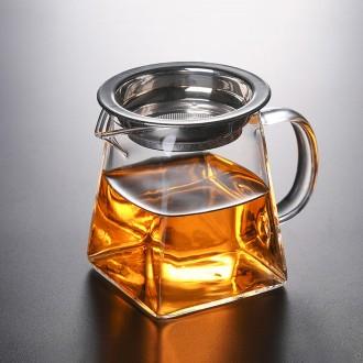 [로하티]하인스 차거름망 유리 물병(350ml)