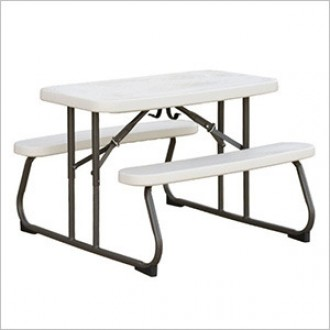 라이프타임 접이식 어린이 키즈 테이블 T280094
