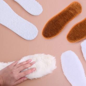 [도매큐]천연 양털깔창 인조양털 겨울 깔창 신발깔창