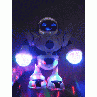 불빛 댄스로봇