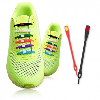 [BEAT] 아이디어 실리콘 신발끈 V-TIE