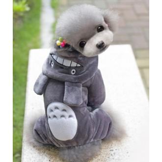 토토로 애견의류 올인원 강아지겨울옷