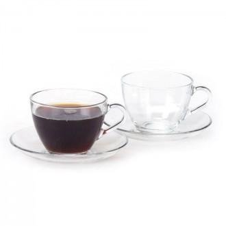 유니온글라스 커피잔 2인조 세트