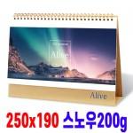 2019년 탁상카렌다 얼라이브(Alive/북캘린더) 탁상용