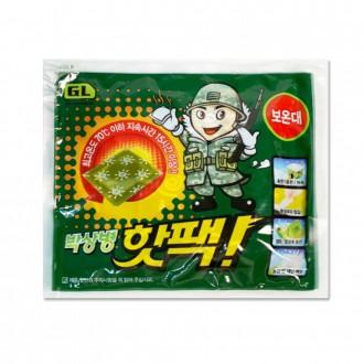 박상병핫팩(1개입) 140g /2020년 최신제조/군인핫팩/국산/휴대용손난로/캠핑