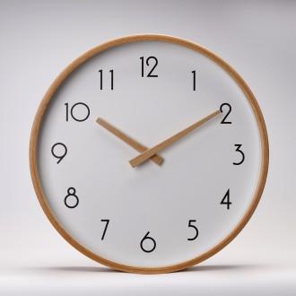 원목벽시계(너도밤나무)