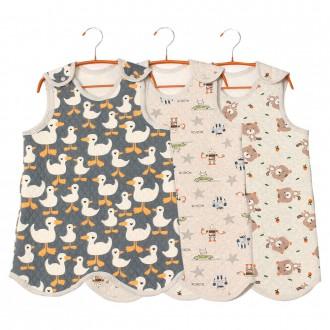 유아 보온조끼 / 수면조끼 / 아기잠옷 내복 실내복