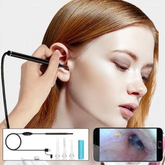내시경 귀이개 귀청소기 LED 귀클리너 귀후비개
