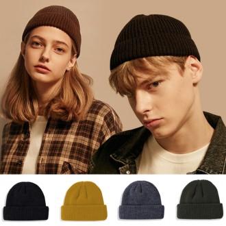 하프숏비니 숏비니 비니 모자 겨울모자 커플모자