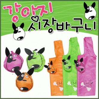 강아지 휴대용시장 보조가방 시장 장바구니 다원무역