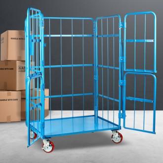 4문형 롤테이너(대형) 철대차 운반기 카트 물류창고