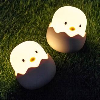 병아리 무드등(무선 충전식/밝기조절/LED)