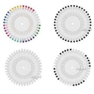 구슬핀 (40p)/시침핀/바늘/옷핀/반짇고리/진수핀