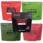 전투식량 야전식량 즉석비빔밥/라면밥 캠핑 낚시(5종)