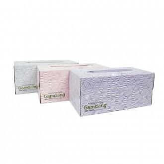각티슈/휴지/맑은느낌 각티슈(180매)1p/화장지/잡동