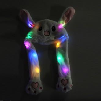 LED 움직이는 토끼귀모자 SNS인기 인싸아이템 연예인