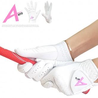 [BARO] AERO에어로 여성용 콤비 양손 골프장갑