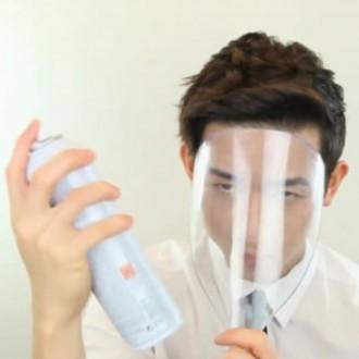 스프레이얼굴가리개/얼굴가리개 미용실얼굴가리개