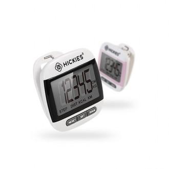 칼로리 측정 시계기능 클립형 BIG LCD 정밀 PT 만보계