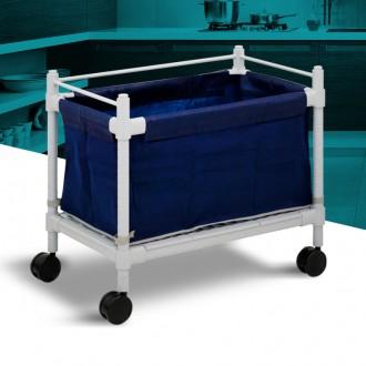 카트- 이동식수거함 세탁물 다용도 운반 병원 대형