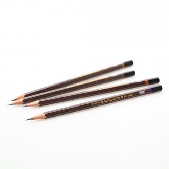 문화 더존 연필 (6H 5H 4H 3H 2H H HB B 2B 4B) 선택