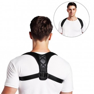 바른자세벨트 어깨교정밴드 허리 척추 보호대 서포터