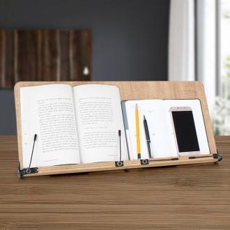 104n 독서대 대형 와이드 고시용 나무 독서 받침대 책