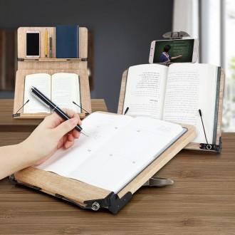 독서대 책받침대 북스탠드 휴대용 책받침 거치대 원목