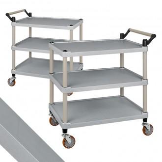 플라스틱써빙카트3단(신형) 대 식당용 운반구 배식카