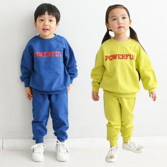 [꼬마창고]파워세트/아동복/상하복세트