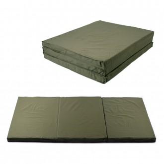 국산 군용 3단 접이식매트리스 일반형 3단매트 캠핑매