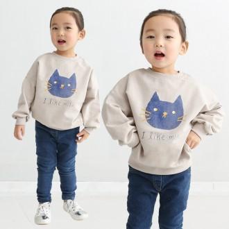 [꼬마창고]밀크맨투맨/아동복/아동티셔츠