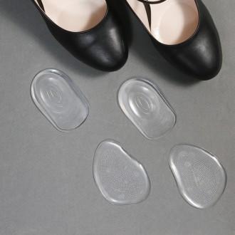 하이힐 발보호 논슬립 실리콘젤 발부분용 쿠션 패드