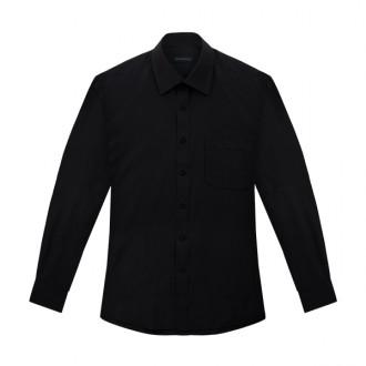 일반 블랙 기본셔츠 MN002