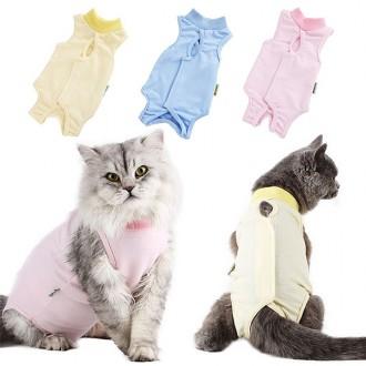 고양이중성화복 애견수술 환부 그루밍방지 수술복