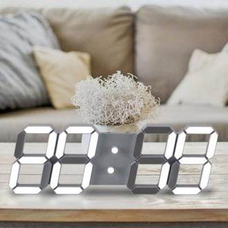 3D LED 벽시계 대형 (38cm) KC인증 인테리어 무소음