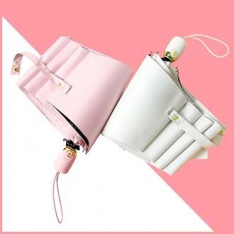 마카롱 자동 자외선 차단 암막 양산/우산