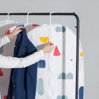 겨울옷보관 비닐 투명 옷커버 의류커버