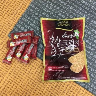 [홍삼] 아이삼 홍삼 크런치 초코