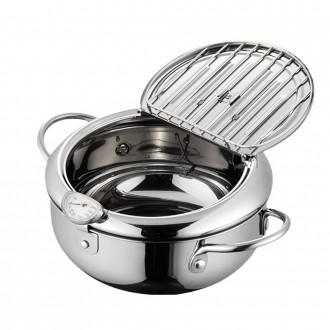 튀김 냄비 세트 후라이팬 에어프라이어 튀김기 인덕션